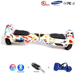 Gooscooter 6,5 tommers Bluetooth Hoverboard Self Balancing Scooter