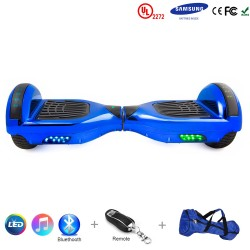 Gooscooter 6.5 pulgadas Bluetooth LED Hoverboard auto equilibrio Scooter