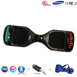 Gooscooter 6.5 pouces Scooter auto-équilibrant Bluetooth LED Hoverboard