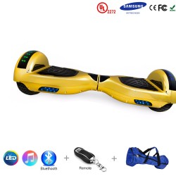 Gooscooter 6,5 tommers Bluetooth LED Hoverboard Self Balancing Scooter