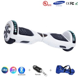 Gooscooter 6,5 tommer Bluetooth LED Hoverboard Self Balancing Scooter