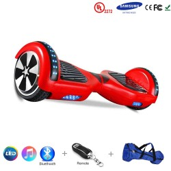 Gooscooter 6,5-tolline Bluetooth LED Hoverboard Self-tasakaalustus Scooter