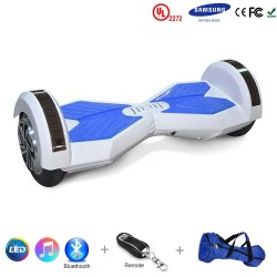 Gooscooter 8 collu Bluetooth LED Hoverboard pašbalansējošais motorolleris