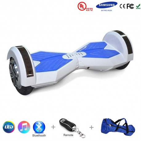 Gooscooter 8 colių Bluetooth LED Hoverboard