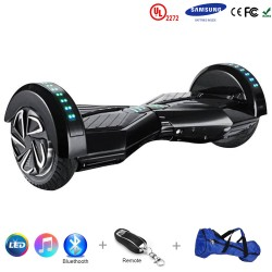 Gooscooter 8 tommer Bluetooth LED Hoverboard Self Balancing Scooter