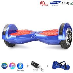 Gooscooter 8 Zoll Bluetooth LED Hoverboard selbstausgleichender Roller