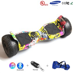 Gooscooter 8.5 pulgadas Off-road Bluetooth Hoverboard auto equilibrio Scooter