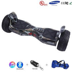 Gooscooter 8,5 tums Off-road Bluetooth Hoverboard Self Balancing Scooter