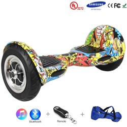 Gooscooter 10 tommers Bluetooth Hoverboard Self Balancing Scooter