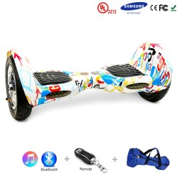 Gooscooter 10 inch Bluetooth Hoverboard Self Balancing Scooter