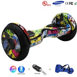 Gooscooter 10-tolline Elegant Bluetooth Hoverboard Self-tasakaalustus Scooter