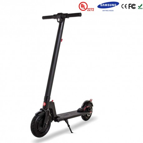Gooscooter 8,5 tums Electric Scooter LED Foldbar Electric Kick Scooter Hoverboard