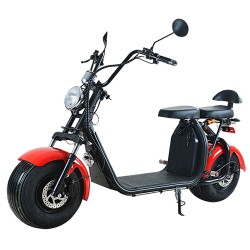 Harley Electric Scooter 1000W 12AH Big Wheel Motorcycle Removable Battery Electric Scooter